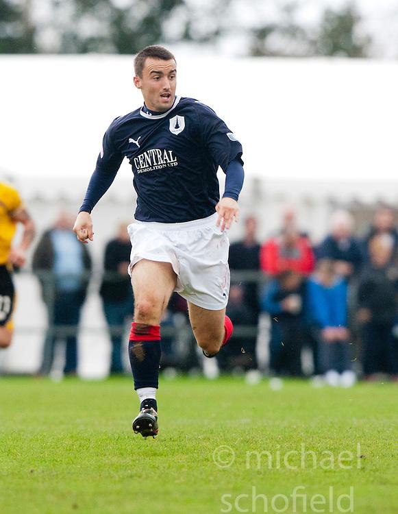 Falkirk's Mark Millar..Annan Athletic 0 v 3 Falkirk. Semi Final of the Ramsdens Cup, 9/10/2011..Pic © Michael Schofield.