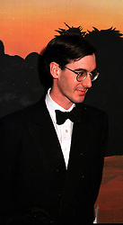The HON.JACOB REES-MOGG at a ball in London on 26th November 1999.MZL 40