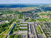 Nederland, Gelderland, Arnhem, 29-05-2019; de wijk Presikhaaf - met gelijknamig winkelcentrum.<br /> The Presikhaaf district - with a shopping center of the same name.<br /> <br /> luchtfoto (toeslag op standaard tarieven);<br /> aerial photo (additional fee required)<br /> copyright © 2020 foto/photo Siebe Swart