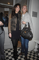 Left to right, CAROLINE SIEBER and OLIVIA BUCKINGHAM at a book signing Lady Annabel Goldsmith's book 'Copper: A Dog's Life' held at Mungo & Maud, 79 Elizabeth Street, London SW1 on 20th February 2007.<br /><br />NON EXCLUSIVE - WORLD RIGHTS
