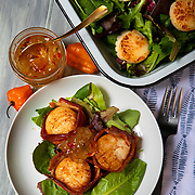 Pineapple Habanero Jam on scallops. Nathan Lambrecht/Journal Communications