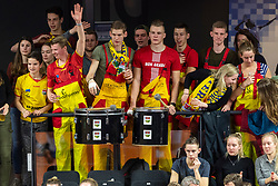 17-02-2019 NED: National Cupfinal Draisma Dynamo - Abiant Lycurgus, Zwolle<br /> Support of Dynamo Apeldoorn