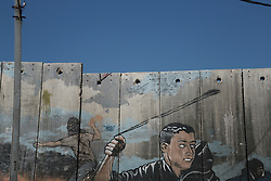 Views of the wall of separation near the Aida refugee camp in Bethlehem. From a series of photos commissioned by  British NGO, Medical Aid for Palestinians (MAP).