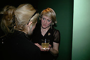 Pia Getty and Isabella Macpherson. Waste and The Lost World. Memento Mori. Oliver Clegg, Polly Morgan, and Alstair Mackie. The Gallery at Adventure Ecology HQ. Charing Cross Rd. London. 7 March 2007.  -DO NOT ARCHIVE-© Copyright Photograph by Dafydd Jones. 248 Clapham Rd. London SW9 0PZ. Tel 0207 820 0771. www.dafjones.com.