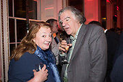 AMANDA CRAIG, MICHAEL ARDITTI, Literary Review  40th anniversary party and Bad Sex Awards,  In & Out Club, 4 St James's Square. London. 2 December 2019