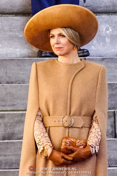 NLD/Den Haag/20180320 - Officieel bezoek Jordanie aan Nederland, Koningin Maxima