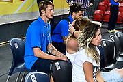 DESCRIZIONE : Tbilisi Nazionale Italia Uomini Tbilisi City Hall Cup Italia Italy Lettonia Latvia<br /> GIOCATORE : Achille Polonara Daniel Hackett<br /> CATEGORIA : pregame before<br /> SQUADRA : Italia Italy<br /> EVENTO : Tbilisi City Hall Cup<br /> GARA : Italia Lettonia Italy Latvia<br /> DATA : 14/08/2015<br /> SPORT : Pallacanestro<br /> AUTORE : Agenzia Ciamillo-Castoria/GiulioCiamillo<br /> Galleria : FIP Nazionali 2015<br /> Fotonotizia : Tbilisi Nazionale Italia Uomini Tbilisi City Hall Cup Italia Italy Lettonia Latvia
