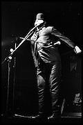 ALEXEI SAYLE, Performance of The Comic Strip,  Boulevard Theatre, next to the Raymond Revue, Walkers court , Soho. London. 1981