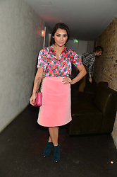 VANESSA WHITE at the Lancôme pre BAFTA party held at The London Edition, 10 Berners Street, London on 14th February 2014.