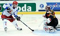 Anton Kuryanov (RUS) trifft gegen Dimitri Patzold (GER) das Tor zum 4:0. © Manu Friederich/EQ Images