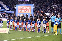 March 9, 2019 - Strasbourg, France - EQUIPE DE FOOTBALL DE LYON - ENTREE DES JOUEURS (Credit Image: © Panoramic via ZUMA Press)