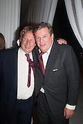 PADDY MCNALLY; JOHANN RUPERT;, The Cartier Chelsea Flower show dinner. Hurlingham club, London. 20 May 2013.