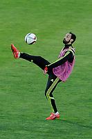 Spanish National Team's  training at Ciudad del Futbol stadium in Las Rozas, Madrid, Spain. In the pic: Juanfran Torres. March 25, 2015. (ALTERPHOTOS/Luis Fernandez)