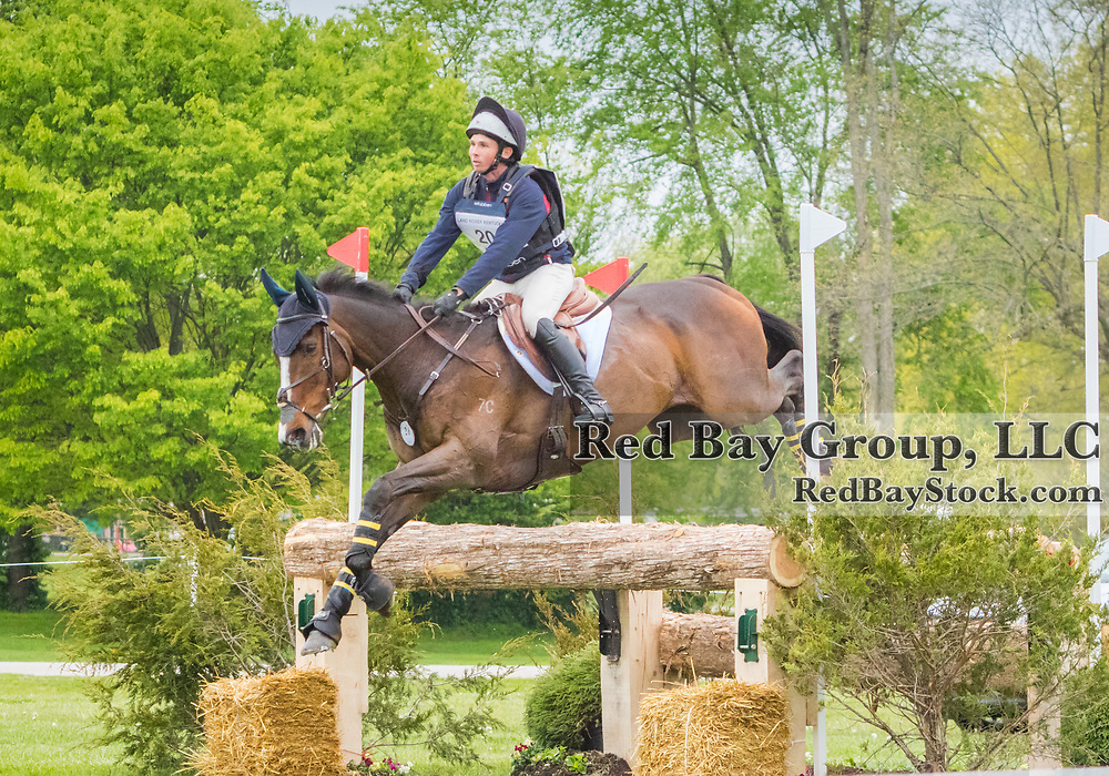 Michael Pendleton (USA) and Steady Eddie at the Land Rover Kentucky Three-Day Event presented by MARS Equestrian held in Lexington, KY.