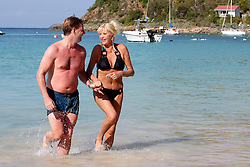 File picture of Ivana Trump and new hubPhoto by ? Name is Gary Peters in St Barth, on February 12, 2010. Ivana Trump wants to be an ambassador for Donald Trump. Photo by Papixs Press/ABACAPRESS.COM