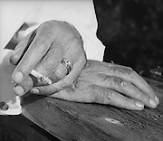 Jacob/Jakob Wasserman's Hands, Austria, circa 1933