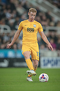 Eoin Doyle (Preston North End) during the EFL Cup 4th round match between Newcastle United and Preston North End at St. James's Park, Newcastle, England on 25 October 2016. Photo by Mark P Doherty.