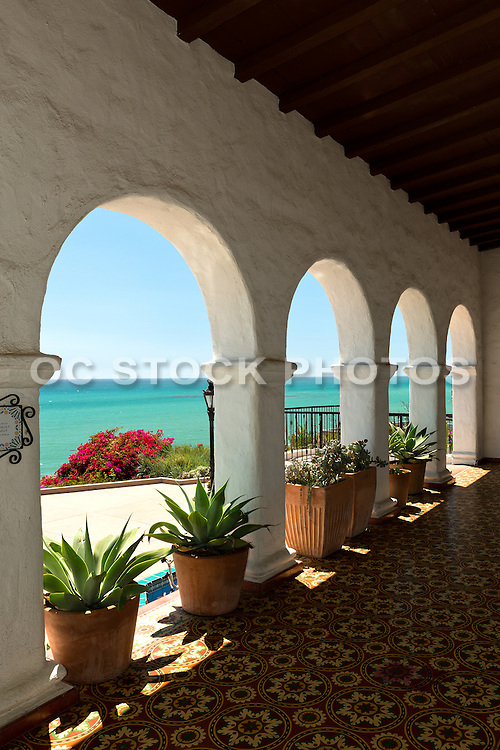 Scenic Ocean View from the Casa Romantica in San Clemente