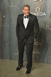 © Licensed to London News Pictures. 26/04/2017. London, UK. GEORGE CLOONEY attends the Omega party celebrating 60 Years of the Speedmaster watch. Photo credit: Ray Tang/LNP