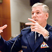 """General Richard Myers, Chairman of the Joint Chiefs of Staff. Panel: Military Response on 9/11. The 9/11 Commission's 12th public hearing on """"The 9/11 Plot"""" and """"National Crisis Management"""" was held June 16-17, 2004, in Washington, DC."""