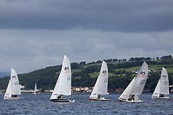 Peelport Clydeport Largs Regatta Week 2013 <br /> <br /> RS200 Fleet Upwind<br /> <br /> Largs Sailing Club, Largs Yacht Haven, Scottish Sailing Institute