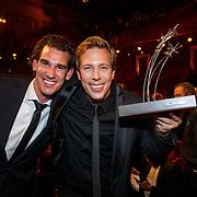 NLD/Amsterdam/20151015 - Televiziergala 2015, winnaar Gouden Stuiver 2015  voor Freeks Wilde Wereld  Freek Vonk