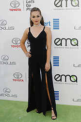 BURBANK, CA - OCTOBER 22: Actress Brec Bassinger attends the 26th annual EMA Awards presented by Toyota and Lexus and hosted by the Environmental Media Association at Warner Bros. Studios on October 22, 2016 in Burbank, California. Byline, credit, TV usage, web usage or linkback must read SILVEXPHOTO.COM. Failure to byline correctly will incur double the agreed fee. Tel: +1 714 504 6870.