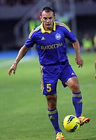 BILDET INNGÅR IKKE I FASTAVTALENE MEN MÅ KJØPES SEPARAT<br /> <br /> Fotball<br /> Foto: imago/Digitalsport<br /> NORWAY ONLY<br /> <br /> 25.07.2012<br /> Skopje (Former Yugoslav Republic Macedonia) FK Vardar-FK Bate Borisov UEFA Champions League qualifying 2nd leg <br /> <br /> Alyaksandr Yurevich FK Bate Borisov