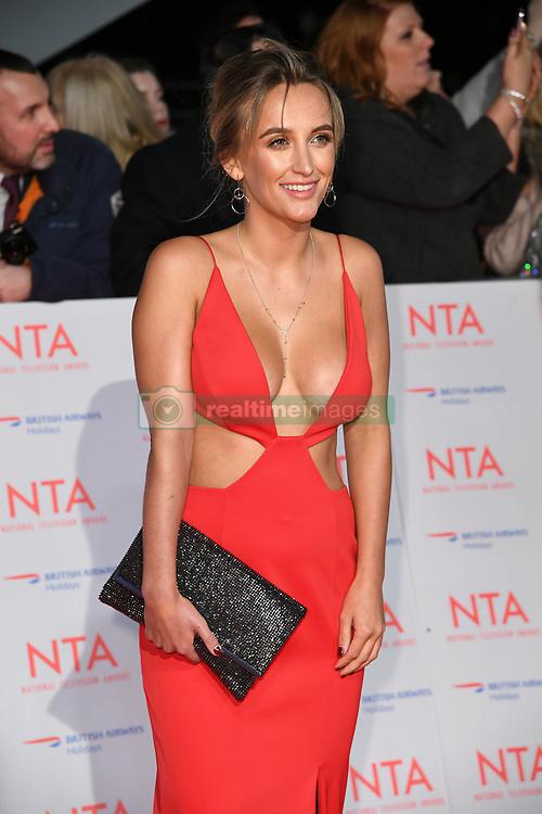 Tiffany Watson attending the National Television Awards 2018 held at the O2, London. Photo credit should read: Doug Peters/EMPICS Entertainment