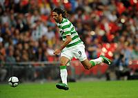Georgios Samaras<br /> Celtic 2009/10<br /> Tottenham Hotspur V Celtic 26/07/09<br /> The Wembley Cup at Wembley Stadium<br /> Photo Robin Parker Fotosports International