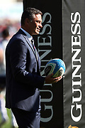 Italia head coach Franco Smith during the Guinness Six Nations 2020, rugby union match between Italy and Scotland, Saturday Feb. 22, 2020,in Rome, Italy.(Federico Proietti/ESPA-Images-Image of Sport)