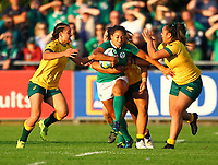 Rugby Union - 2017 Women's Rugby World Cup (WRWC) - Pool C: Ireland vs. Australia<br /> <br /> Ireland's Sene Naoupu in action, at the UCD Bowl, Dublin.<br /> <br /> COLORSPORT/KEN SUTTON