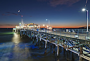 Blue Hour on the Pier | An Evening at Santa Monica Pier, Los Angeles, California, USA