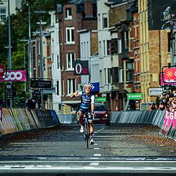 DEIGNAN Elizabeth ( GBR ) – TREK - Segafredo ( TFS ) - USA – Querformat - quer - horizontal - Landscape - Event/Veranstaltung: Liège Bastogne Liège - Category/Kategorie: Cycling - Road Cycling - Elite Women - Elite Men - Location/Ort: Europe – Belgium - Wallonie - Liège - Start: Bastogne-Womens Race - Liège-Mens Race - Finish: Liège - Discipline: Road Cycling - Distance: 257 km - Mens Race - 135 km - Womens Race - Date/Datum: 04.10.2020 – Sunday - Photographer: © Arne Mill - frontalvision.com