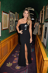 VOGUE WILLIAMS at a dinner to celebrate the 125th anniversary of the Dog's Trust held at Annabel's, Berkeley Square, London on 1st November 2016.
