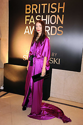 ROKSANDA ILINCIC at the 2008 British Fashion Awards held at the Lawrence Hall, Westminster, London on 25th November 2008.