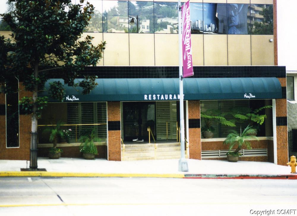 1988 Nicky Blair's Restaurant at Sunset Blvd. & Sunset Plaza Dr.