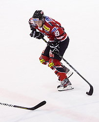 Raphael Herburger of Austria during Friendly Ice-hockey match between National teams of Slovenia and Austria on April 19, 2013 in Ice Arena Tabor, Maribor, Slovenia.  Slovenia defeated Austria 5-2. (Photo By Vid Ponikvar / Sportida)