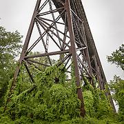 Hudson River rail trestle