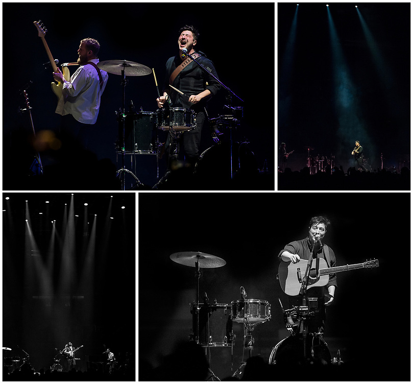 Mumford & Sons - Delta Tour 2019<br /> Canadian Tire Centre, Ottawa, ON. Canada.<br /> <br /> March 5, 2019<br /> <br /> PHOTO: Steve Kingsman/Freestyle Photography