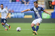 Bailey Wright (Preston North End) during the Pre-Season Friendly match between Bolton Wanderers and Preston North End at the Macron Stadium, Bolton, England on 30 July 2016. Photo by Mark P Doherty.