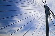 Detail of Anzac Bridge, Sydney Australia