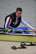 Caversham, Great Britain,  Rick EDINGTON, GB Rowing media day at the Redgrave Pinsent Rowing Lake. GB Rowing Training centre. Wed. 20.04.2008  [Mandatory Credit. Peter Spurrier/Intersport Images] Rowing course: GB Rowing Training Complex, Redgrave Pinsent Lake, Caversham, Reading
