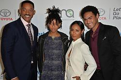 Will Smith & Jada Pinkett Smith & Willow Smith & Trey Smith bei den Annual EMA Awards in Los Angeles / 221016<br /> <br /> *** 26th Annual EMA Awards in Los Angeles on October 22, 2016 ***