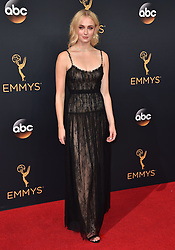 Sophie Turner attends the 68th Annual Primetime Emmy Awards at Microsoft Theater on September 18, 2016 in Los Angeles, California. Photo by Lionel Hahn/ABACAPRESS.COM