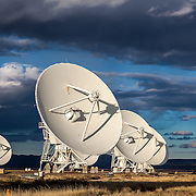 The Very Large Array (VLA) astronomical radio observatory on the Plains of San Agustin near Socorro, NM (where the movie Contact was filmed)