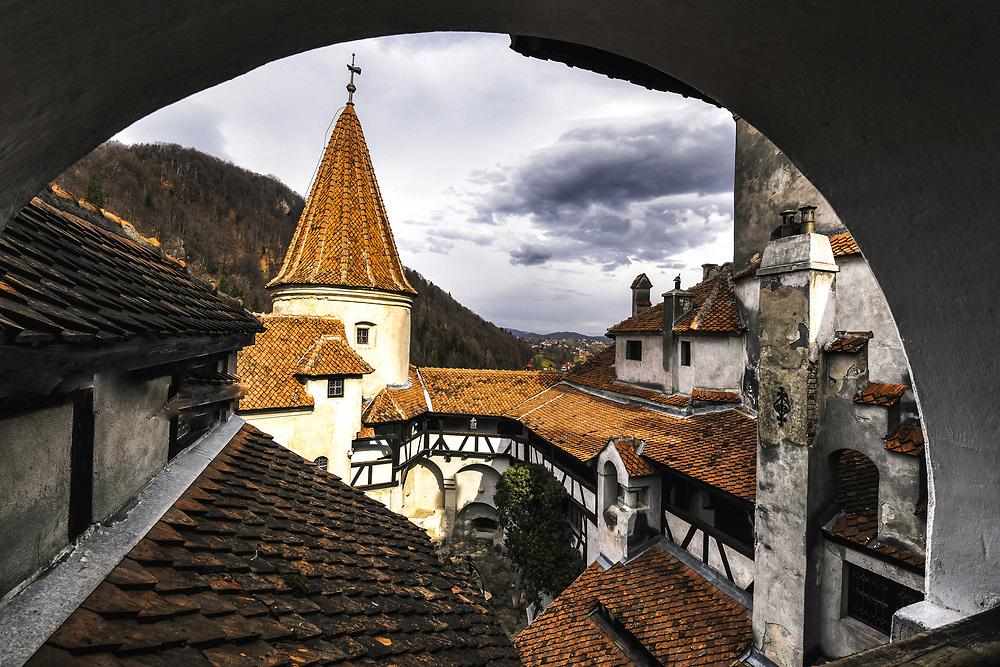 Bran Castle where Vlad Dracul used live, Romania
