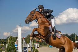 Vandenbossche Bjorn, BEL, W-Helios vd Lindehoeve Z<br /> Belgisch Kampioenschap Jumping  <br /> Lanaken 2020<br /> © Hippo Foto - Dirk Caremans<br /> 02/09/2020