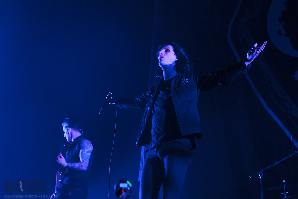 Creeper open the show for All Time Low on the Renegades Tour at Manchester Arena,Greater Manchester, 2018-03-16