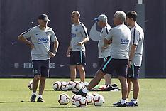First preseason training of the FC Barcelona - 12 July 2018